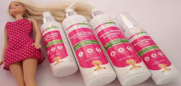 Mamaearth anti hair fall kit review