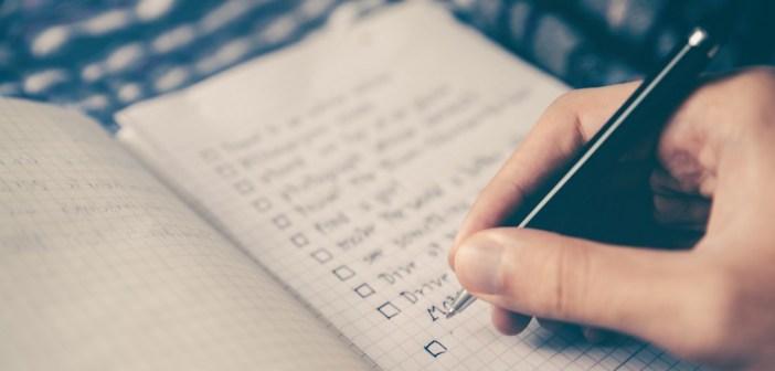 Pre-pregnancy checklist