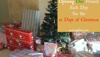 our new christmas tradition opening a present a day for each day of christmas - When Do You Open Christmas Presents
