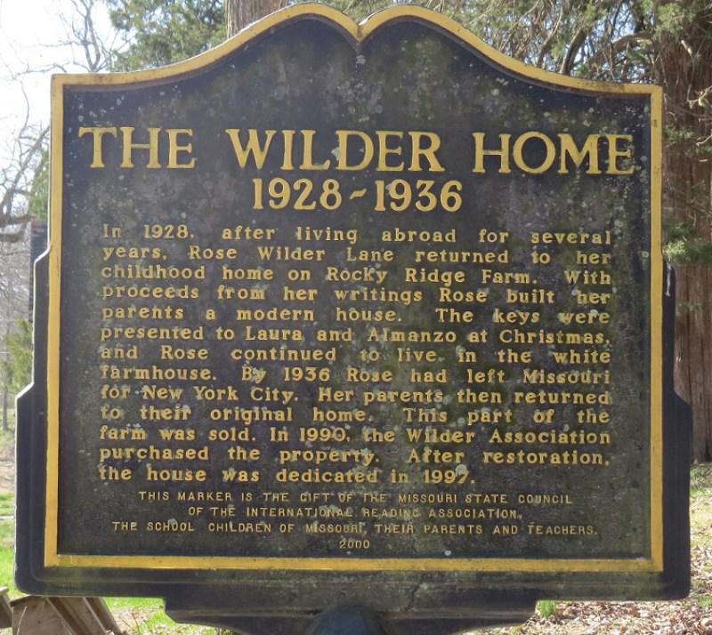 Laura Ingalls Wilder Historic Home and Museum in Mansfield Missouri