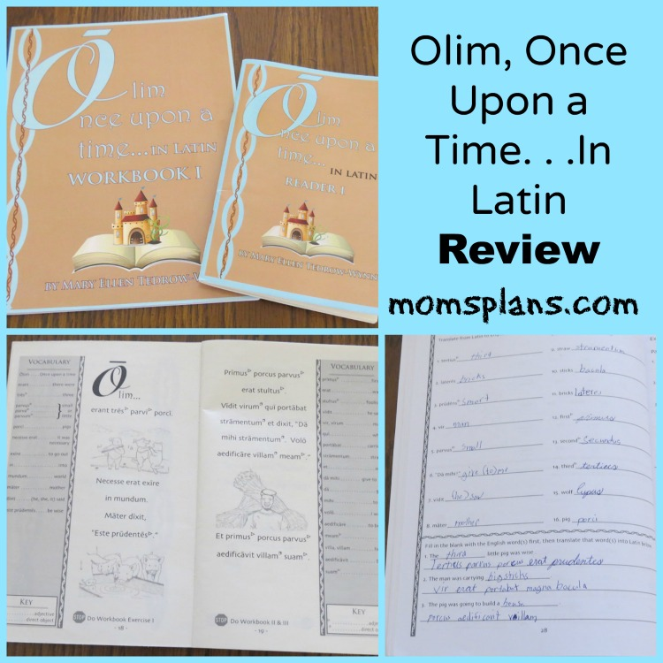 Olim, Once Upon a Time. . .In Latin