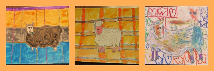 Sheep from Wales ArtAchieve