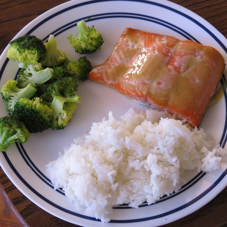 MyFreezEasy Maple Dijon Salmon