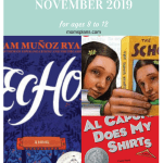 Family Read Alouds for Ages 8 to 12 {November 2019}