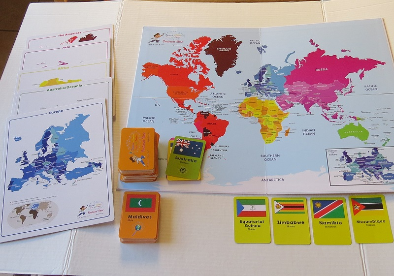Continent Race Game