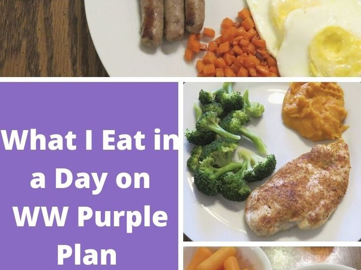 What I Eat in a Day on WW Purple Plan (1/13/21–Gluten Free, Dairy Free)