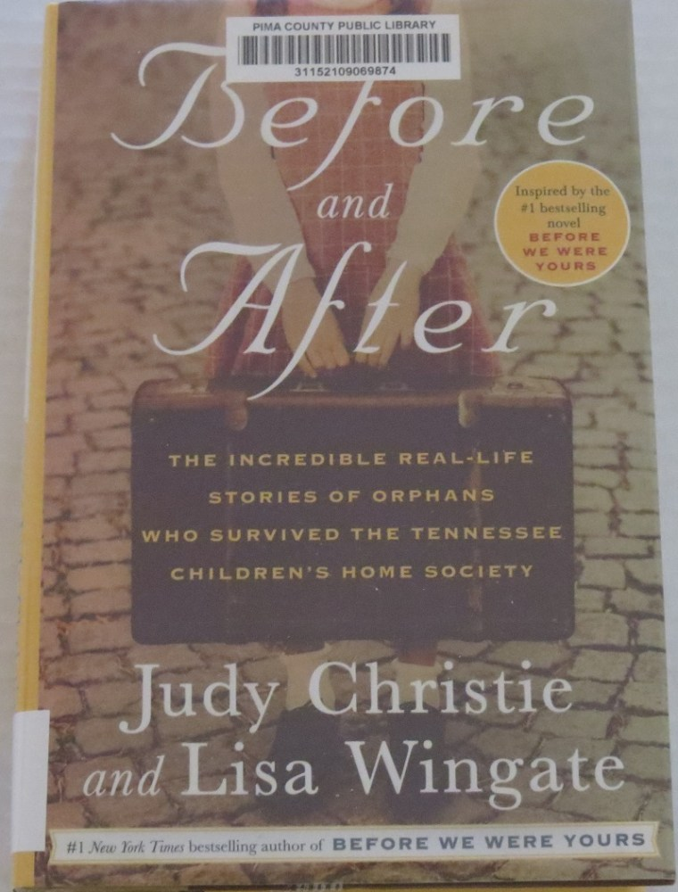 Before and After by Judy Christie and Lisa Wingate