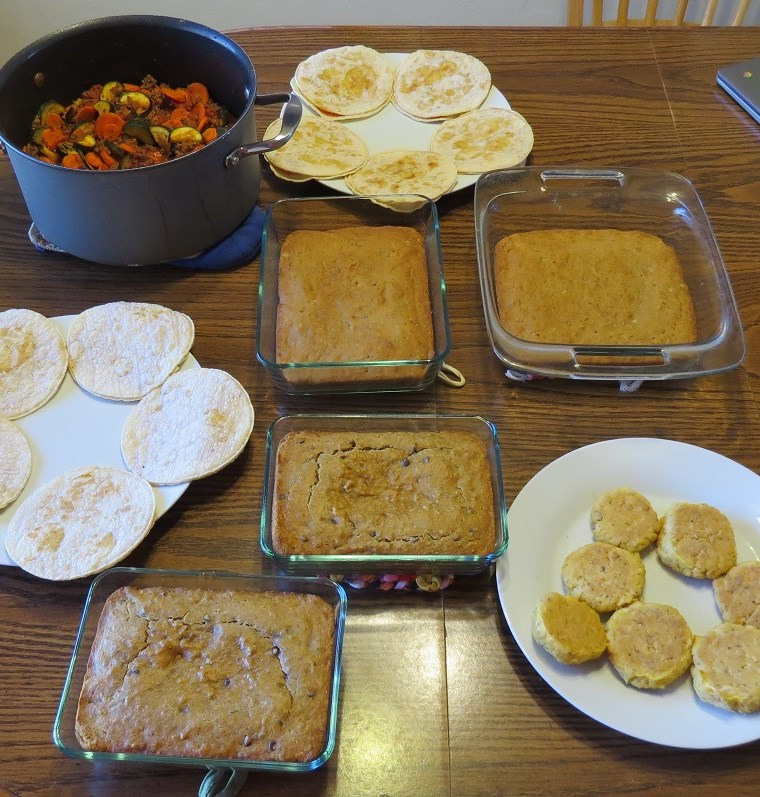 Meal Prep & Menu Plan for May 17 2021
