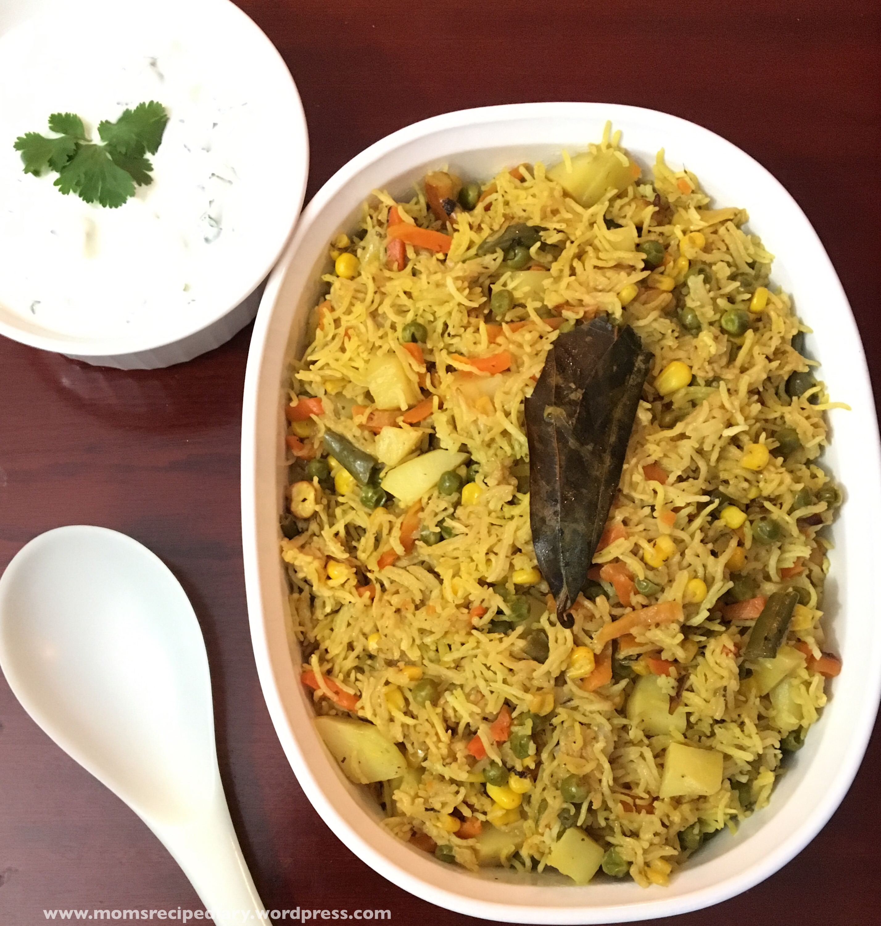 Vegetable Pulao – Instant Pot Method