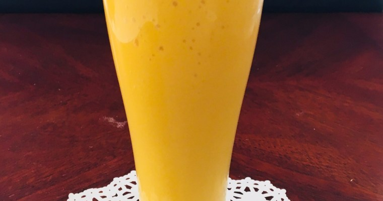 Mango Milkshake Recipe – Fresh Mango Shake with Vanilla Ice Cream