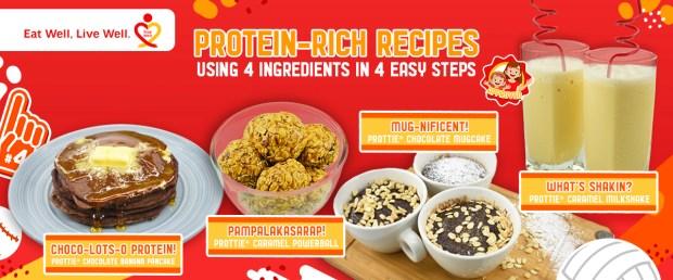 PROTTIE Protein-rich Recipes