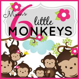 Mom's Six Little Monkeys