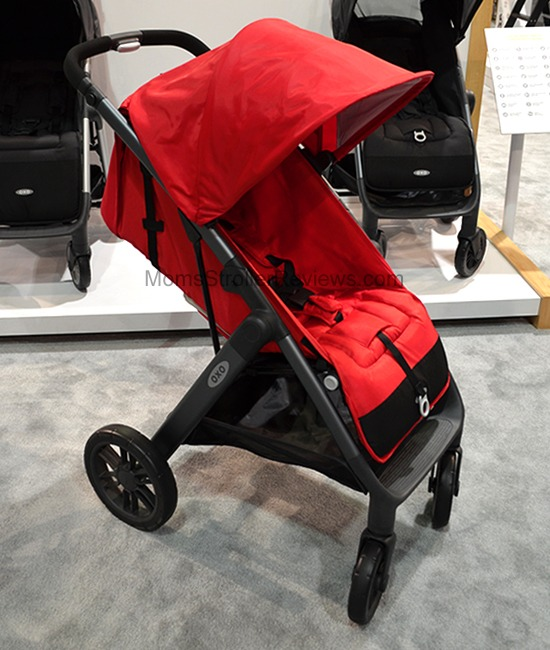 Red Oxo Tot Cubby Plus Stroller