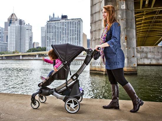 4MOMS ORIGAMI STROLLER!! HALF PRICE!!, Babies & Kids, Strollers ... | 410x550