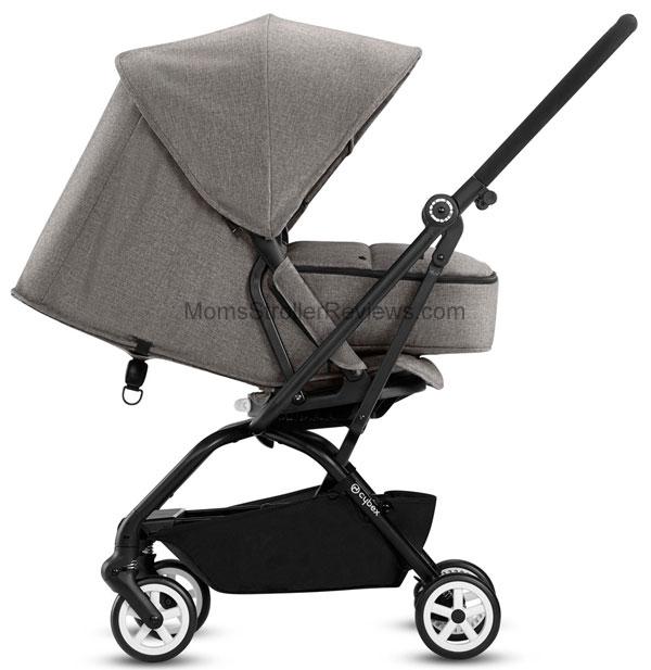NEW! Cybex Eezy S Twist 2018 Stroller Review | Mom's ...