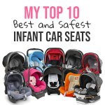 Mom's Picks: Top 10 Best and Safest Infant Car Seats for 2018