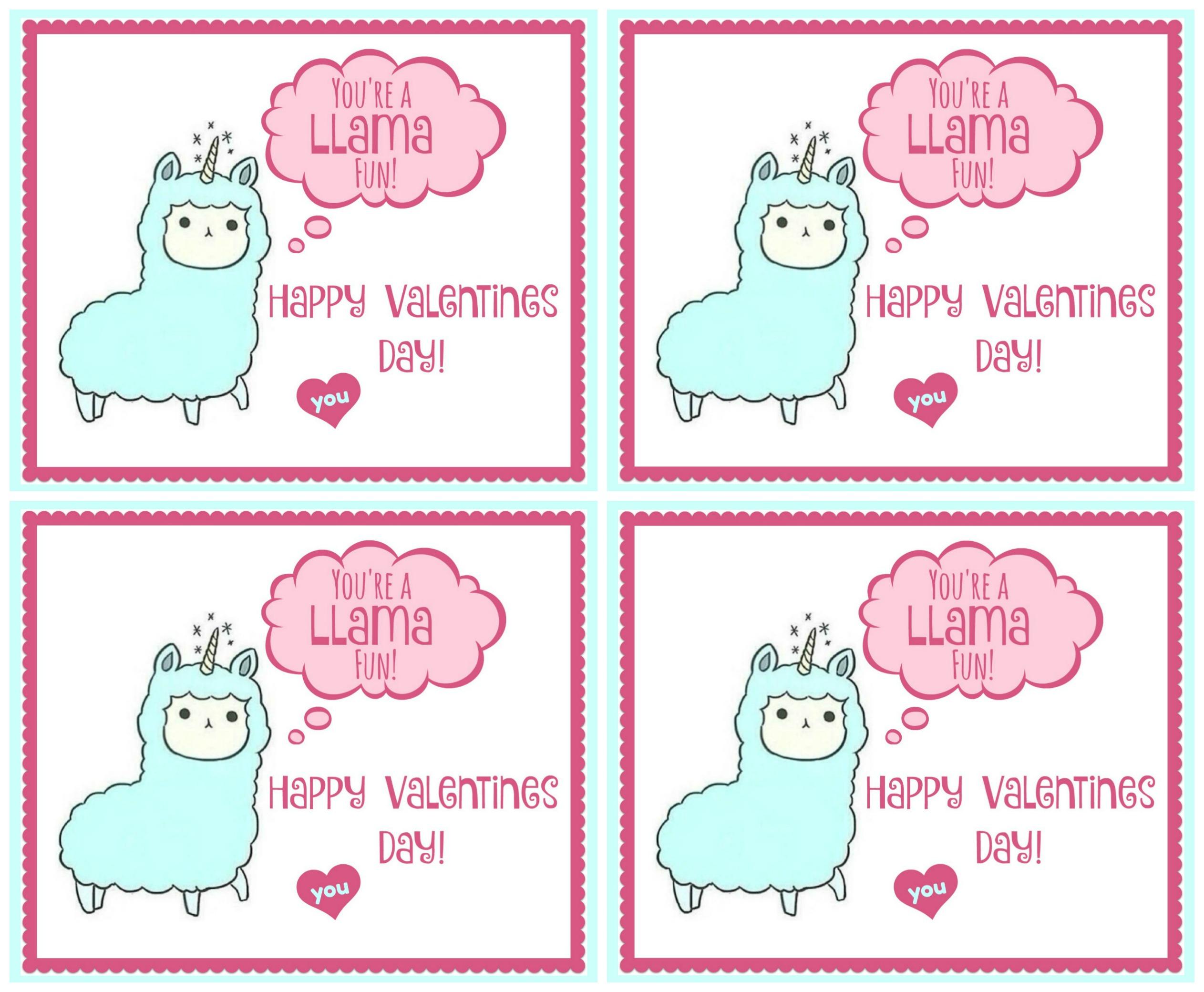 Valentines Printable For Kids