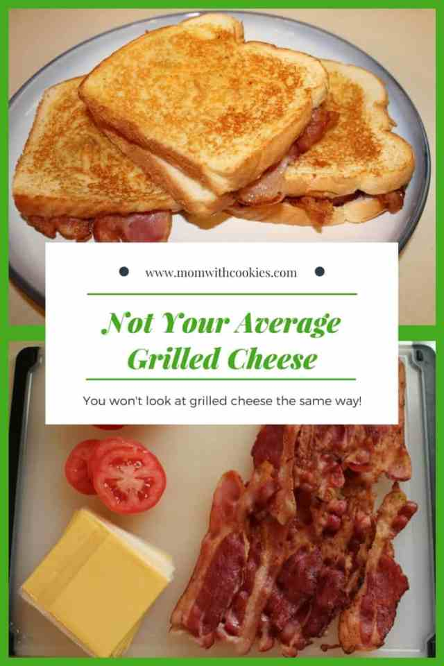 Not your average grilled cheese - www.momwithcookies.com #fullyloadedgrilledcheese #grilledcheese #grilledcheesewithbacon #grilledcheesewithtomatoes #grilledcheesewithonions #grilledcheesewithsauteedonions #notyouraveragegrilledcheese #grilledcheesewithatwist #thebestgrilledcheese #bacongrilledcheese