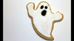 Cookie Decorating: Ghost Cookies