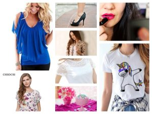 Women's summer shirts range from $ 2 to $ 6 including ALIEXPRESS delivery