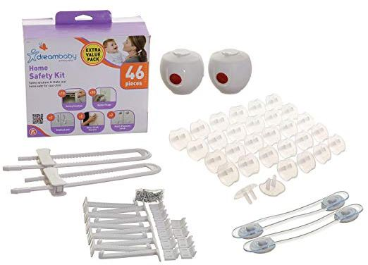 Dream Baby safety kit for home  – How to make your house safety for your baby – product review