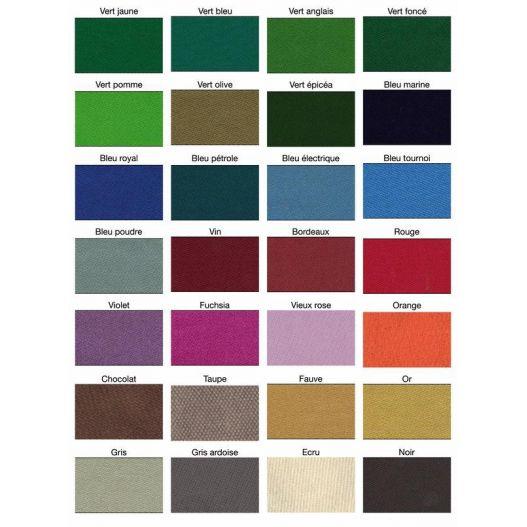 couleur tapis de billard decouvrez