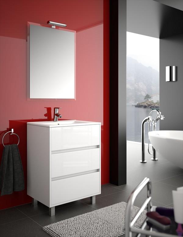 meuble de salle de bain salgar serie arenys 60 cm