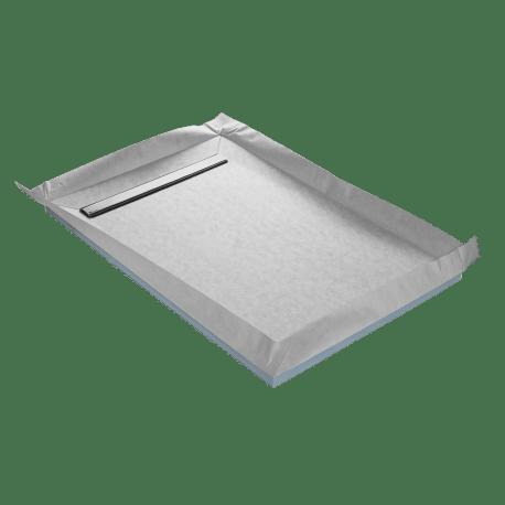 receveur a carreler ep 4 cm 150 x 100 cm lineboard u tile
