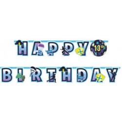 carte invitation anniversaire fortnite