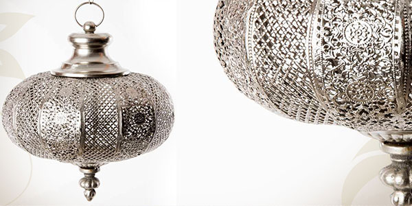 Lustre Oriental Vente Lustre Marocain Moderne Argent