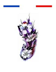 Tatouage orchidée fleur