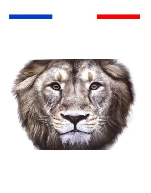 tatouage tête de lion haut du bras