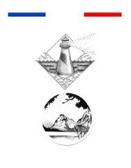 Tatouage phare marin noir et blanc