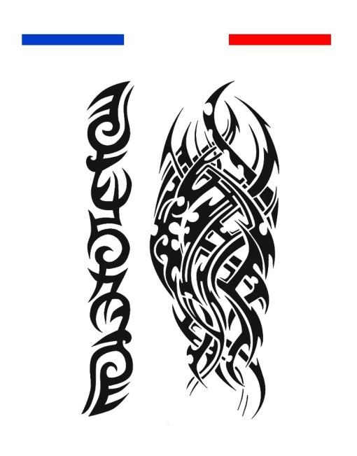 tatouage TEMPORAIRE TRIBAL BRAS