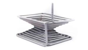 Serpentina a spirale quadrata