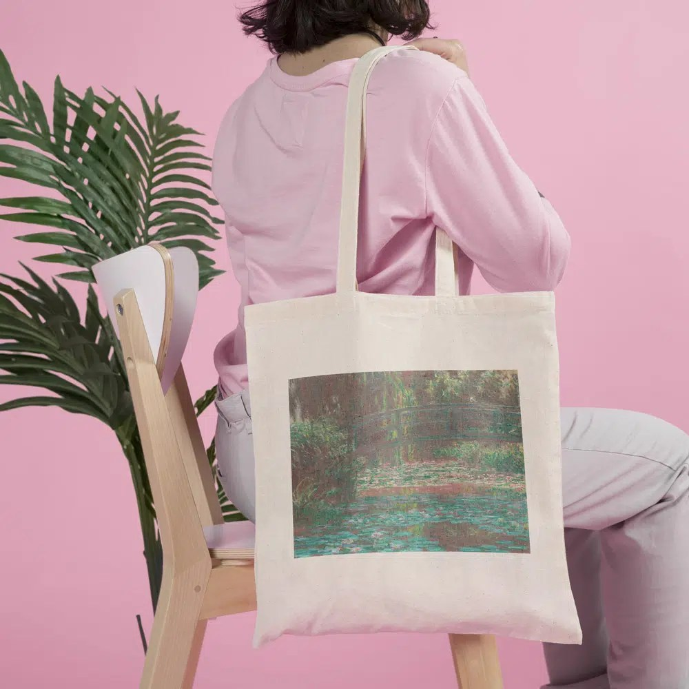 tote bag claude monet