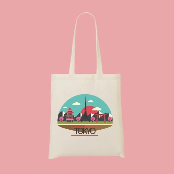 tote bag tokyo - Mon-Tote-Bag.fr