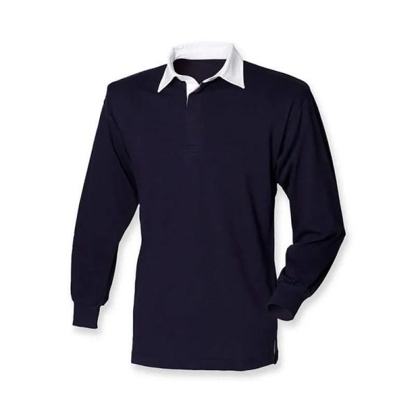 Polo de rugby pour uniforme scolaire