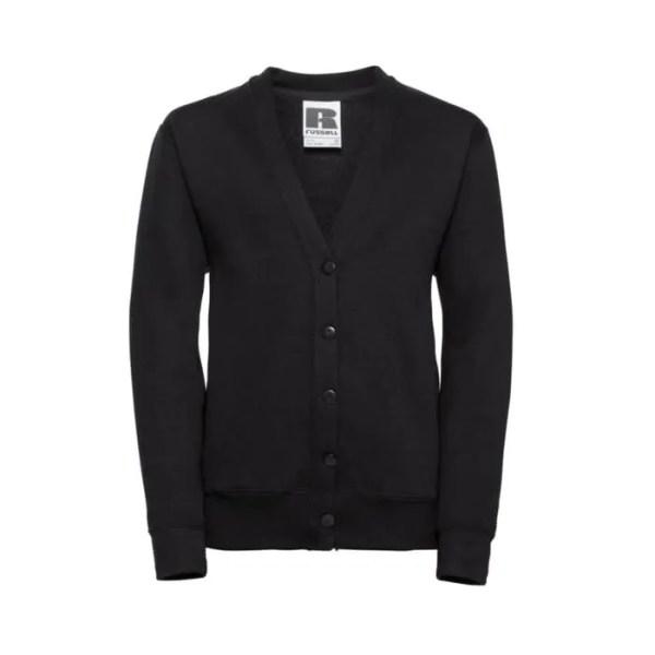 sweat-shirt cardigan pour uniforme scolaire