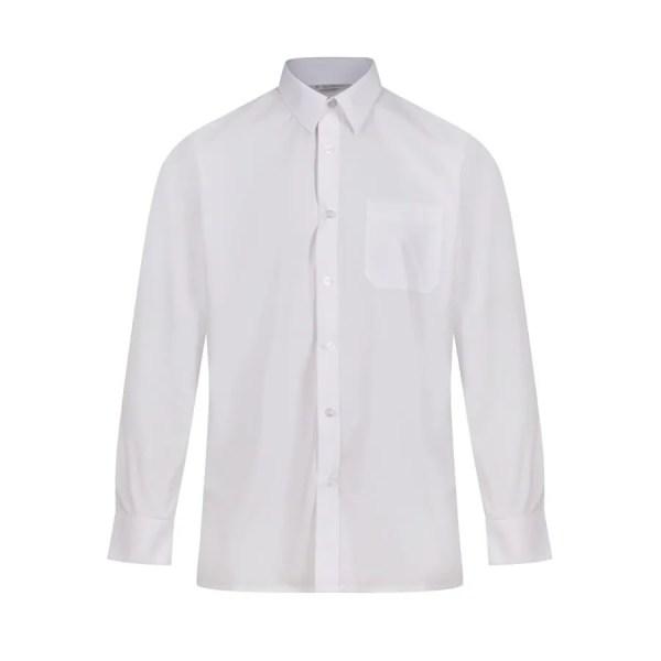 Chemise manches longues pour uniforme scolaire