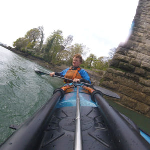 Kayaking on the Menai
