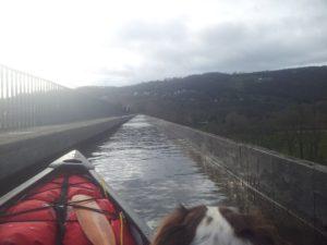 Canoeing Snowdonia