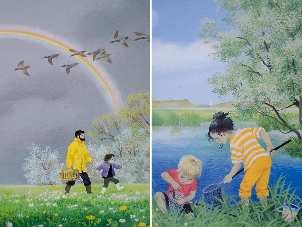 spring & summer collage