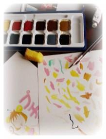 Les joies de la peinture !