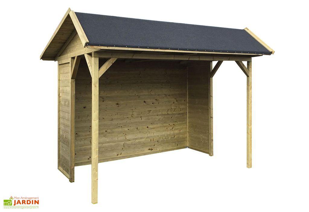 abri de jardin en bois traite ronsburg 19 mm 6 m