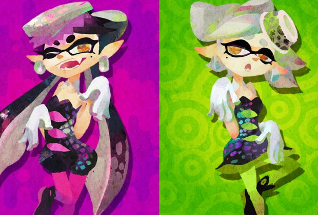 Squid Sister Splatfest