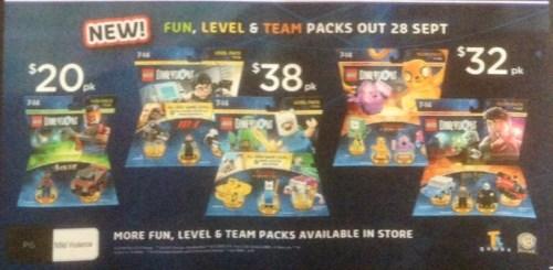 Cheap LEGO Dimensions Wave 6 Packs @ Big W