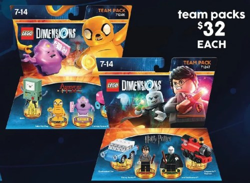 $32 LEGO Dimensions Team Packs @ Target