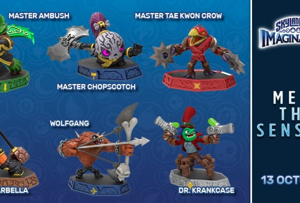 Skylanders Imaginators Wave 1 Senseis