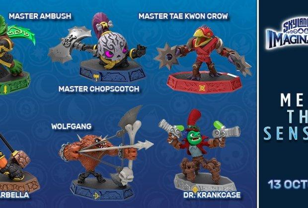Skylanders Imaginators Wave 1 Senseis